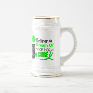 BELIEVE DREAM HOPE Muscular Dystrophy T-Shirts 18 Oz Beer Stein