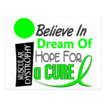 BELIEVE DREAM HOPE Muscular Dystrophy T-Shirts Postcards