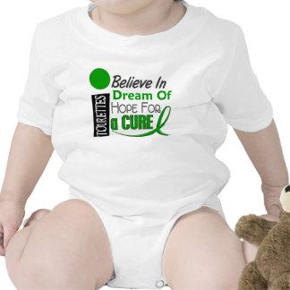 Believe Dream Hope Tourette's Syndrome Tshirts