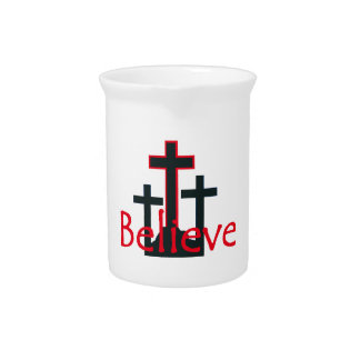 Believe Drink Pitcher