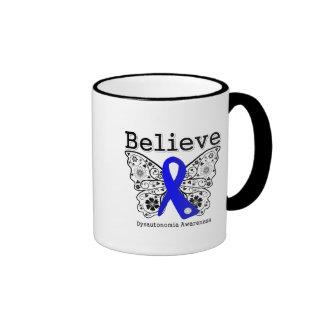 Believe Dysautonomia Awareness Ringer Coffee Mug
