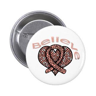 Believe Endometrial Cancer Pin