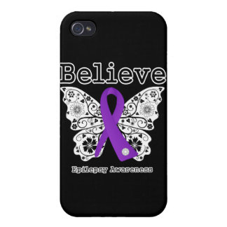 Believe Epilepsy Awareness iPhone 4/4S Cases