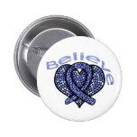 Believe Esophageal Cancer 2 Inch Round Button