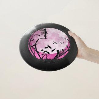 Believe fairies frisbee