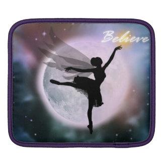 Believe fairy dance iPad sleeve