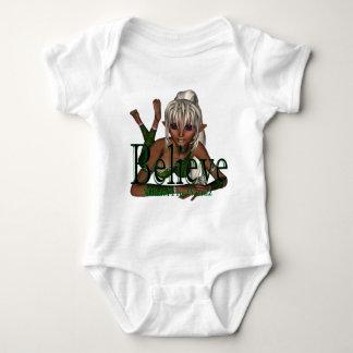 * Believe Fairy lyn Dwn Baby Bodysuit