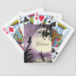"Believe fairy moon playing cards<br><div class=""desc"">Believe fairy playing cards</div>"