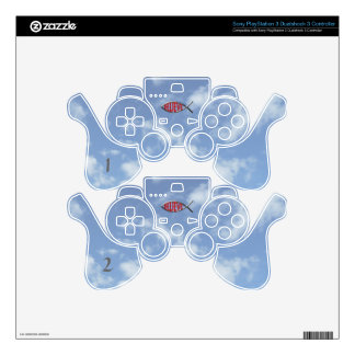 Believe Fish- Red PS3 Controller Skins