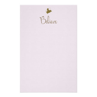believe-flying pig stationery
