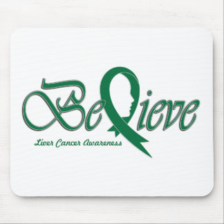 "Believe ""Green - Gift Items"" Mouse Pad"