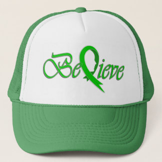 Believe (Green Ribbon-trucker) Trucker Hat