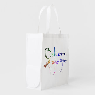 Believe Grocery Bag