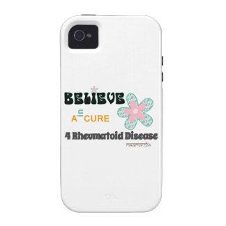 Believe in a cure Case-Mate iPhone 4 cover
