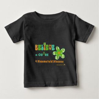 Believe in a CURE for #rheum Baby T-Shirt