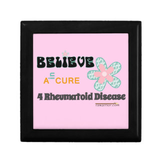Believe in a cure gift boxes