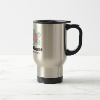 Believe in a cure travel mug