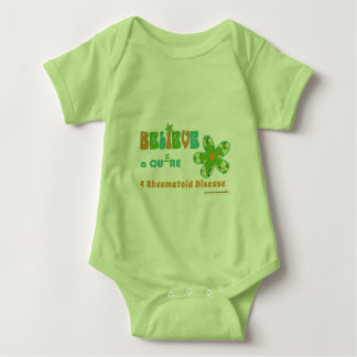 Believe in a #rheum cure baby bodysuit
