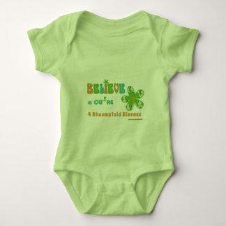 Believe in a #rheum cure baby bodysuit