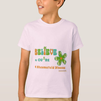 Believe in a #rheum cure T-Shirt