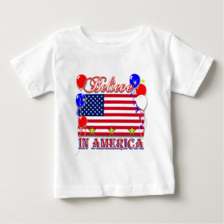 Believe In America Baby T-Shirt