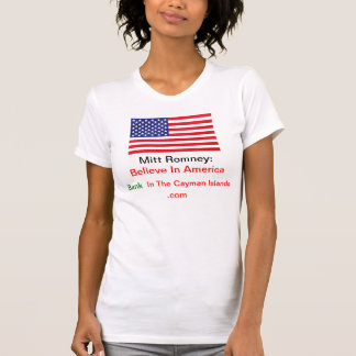 Believe In America Bank In The Cayman Islands .com T-Shirt