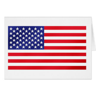 Believe In America Bank In The Cayman Islands Greeting Card