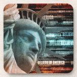 Believe In America Beverage Coasters