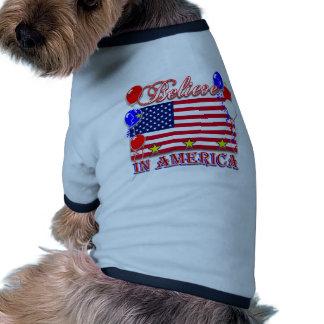 Believe In America Pet Tee
