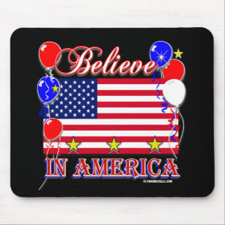 Believe In America Mouse Pad