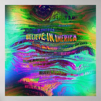 Believe In America Poster