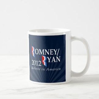 Believe in America, Romney/Ryan 2012 Coffee Mug