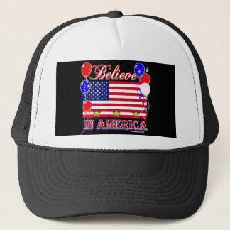 Believe In America Trucker Hat