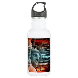 Believe In America Water Bottle