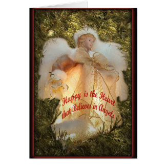 Believe in Angels Card