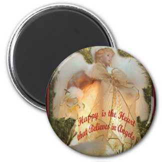 Believe in Angels Magnet