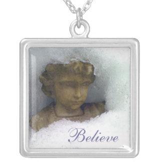 Believe in Angels Pendant