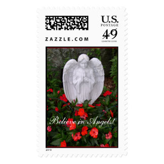Believe in Angels! Stamp