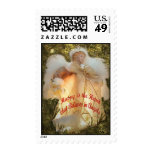 Believe in Angels Postage Stamp