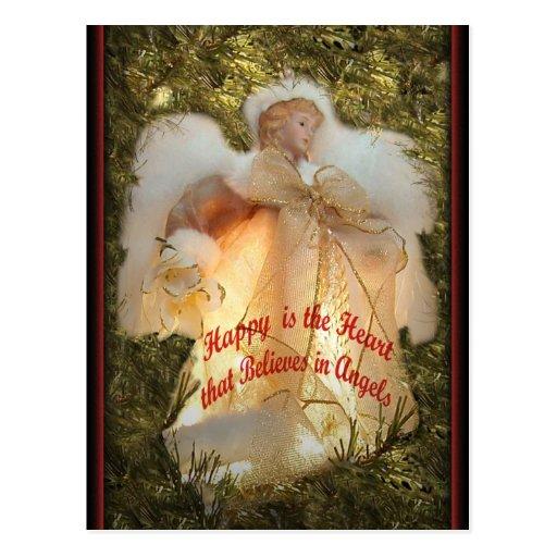 Believe in Angels Postcard