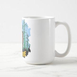 Believe in Bigfoot Coffee Mug