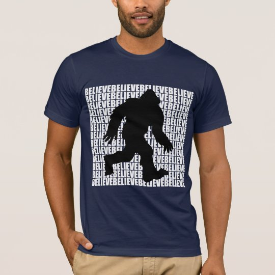 Believe in Bigfoot T-Shirt