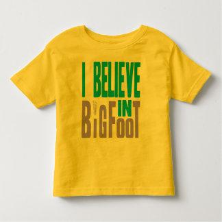 Believe in BIGfoot! Toddler T-shirt