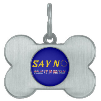Believe In Britain Pet ID Tag