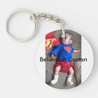 Believe in Castan keychain