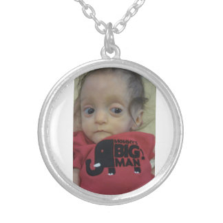 Believe in Castan Silver Plated Necklace