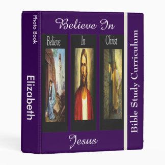 Believe In Christ Photo Album Mini Binder