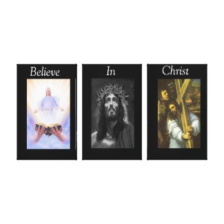 Believe In Christ Wrapped Canvas 8