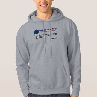 Believe in climate change Hoodie