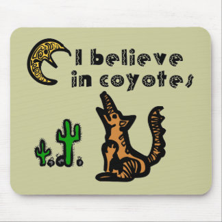 Believe in Coyotes Mousepad